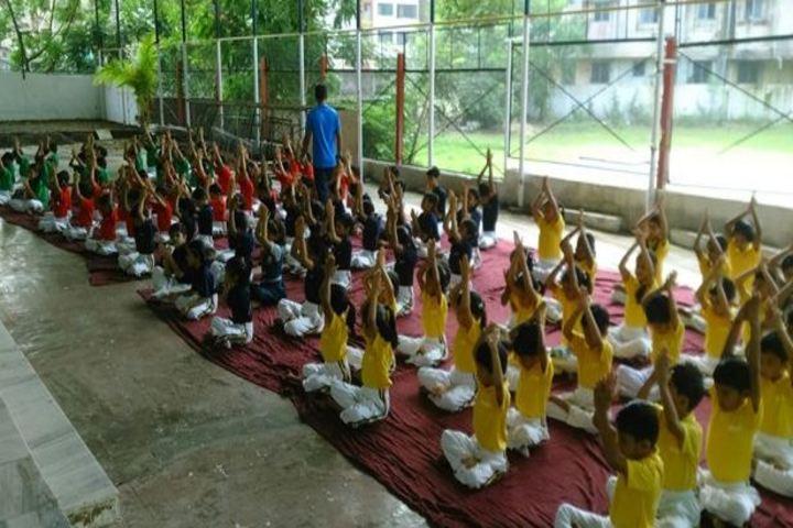 Vidya Dham International School-Yoga Activity