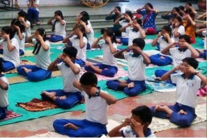 Vision International School Of Excellence-Yoga Activity