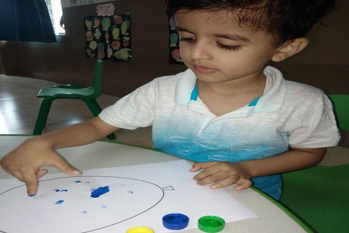White Lotus International School-Drawing Activity