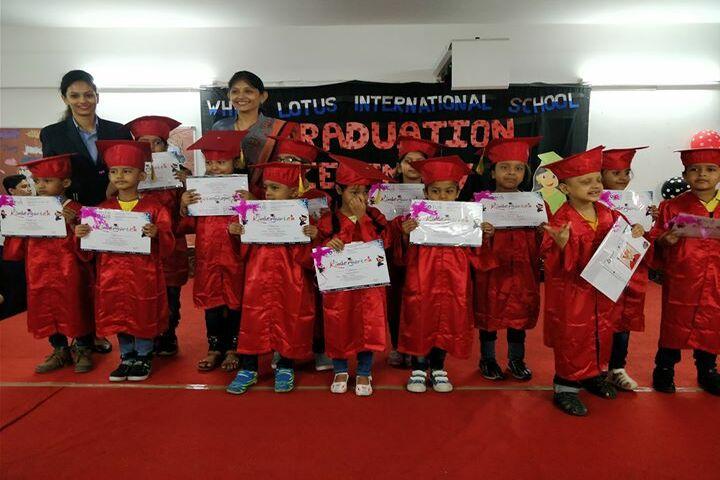 White Lotus International School-KG Graduation Day