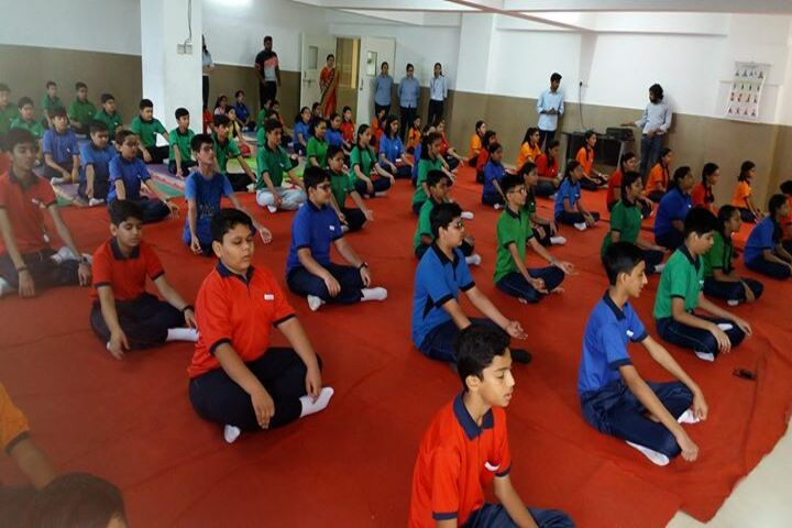 White Lotus International School-Yoga Day