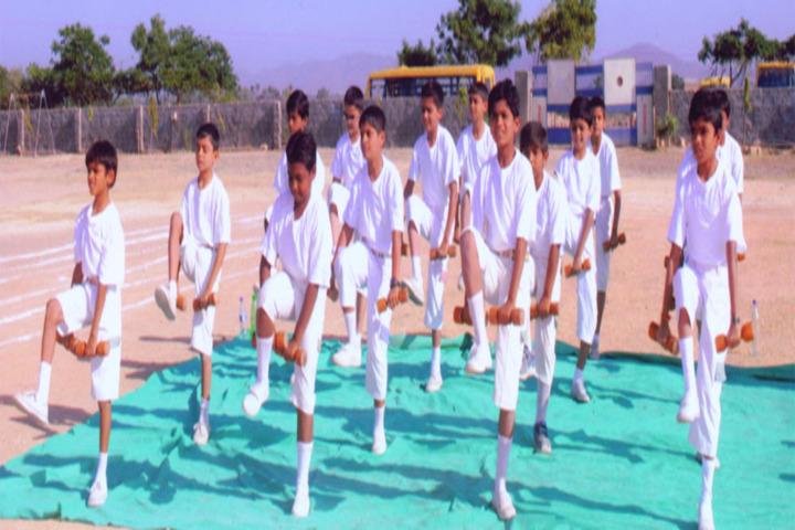Yagyavalkya Vidya Mandir English Medium School-Dancing Activity