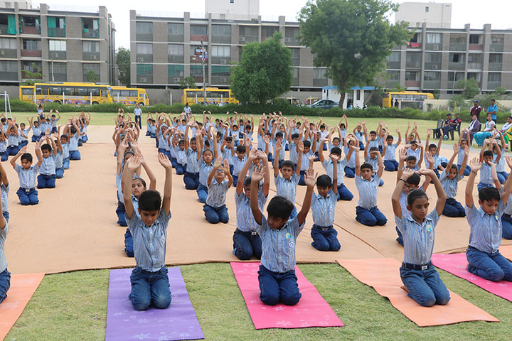 Zebar School For Children-Yoga Day