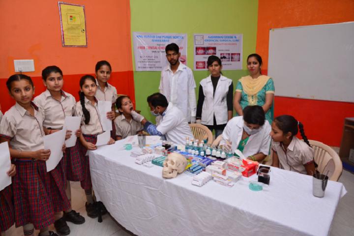 A K Dav Public School-Medical facility
