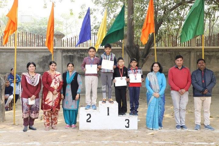 A K Dav Public School-presentation party