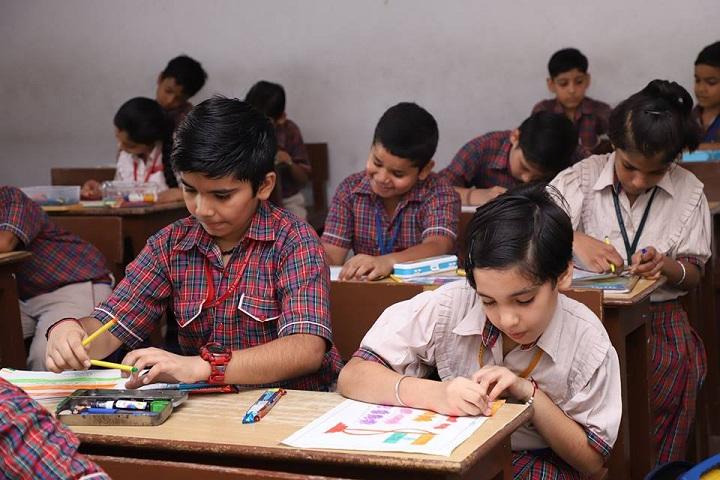 Anil Kumar DAV Public School-Class Room