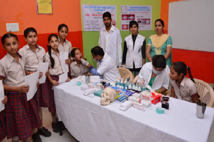 Anil Kumar DAV Public School-Medical Camp