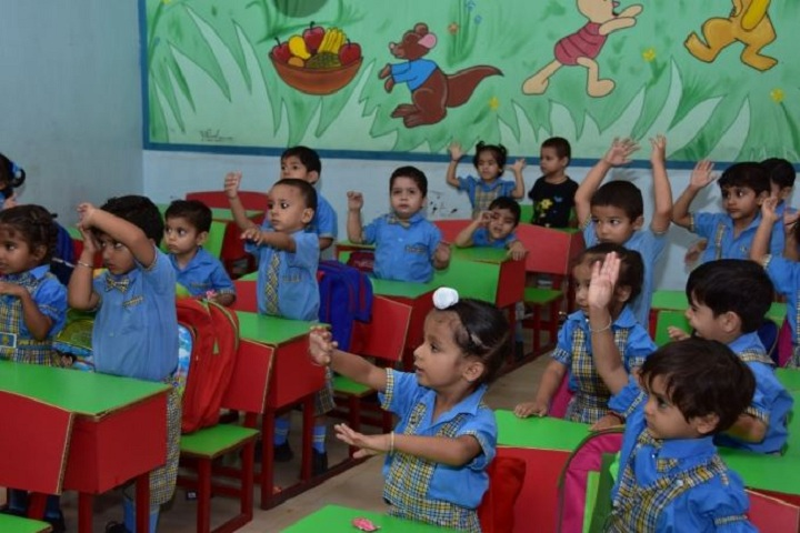 A V International Public School-Classroom