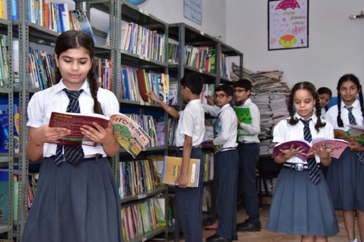 A V International Public School-Library