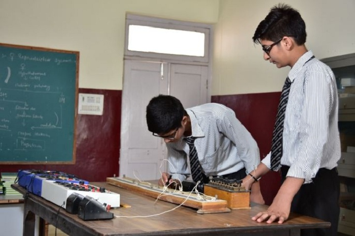 A V International Public School-Physics-Lab