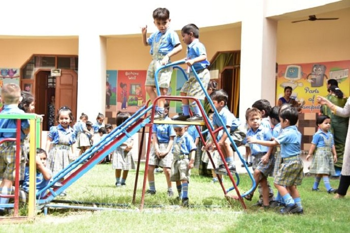 A V International Public School-Play area