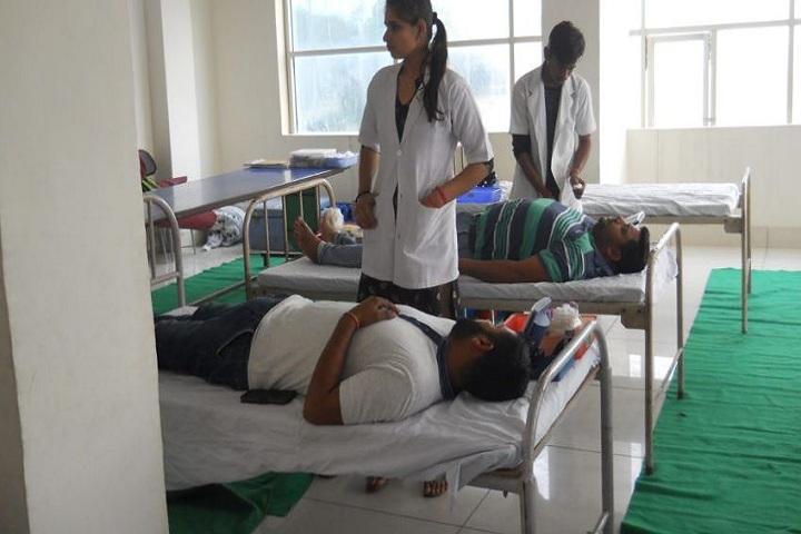 A Xavier S International School-Blood donation camp