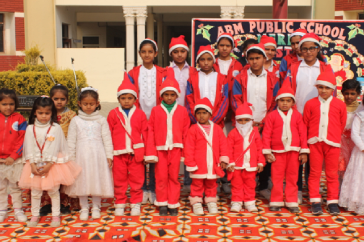 A B M Public School-Christmas day celebrations