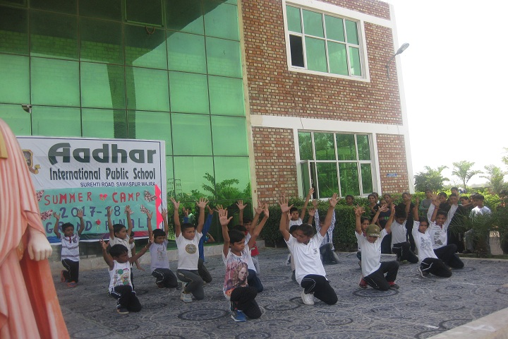 Aadhar International Public School-Physical activites