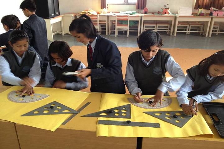Aadharshila Public School-Poster preparation