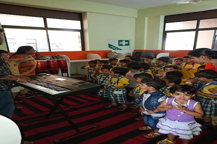 Aakash International School-Music class