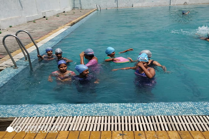 Aakash International School-Swimming pool