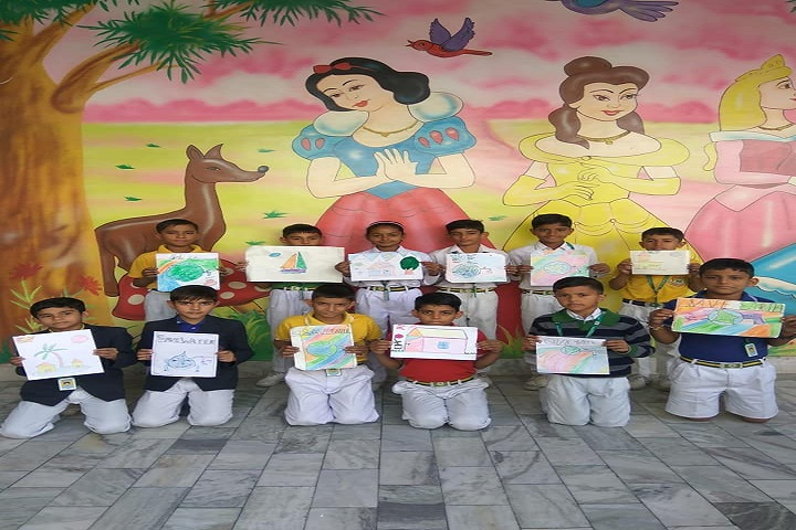 Aastha International Public School-Painting-compitation