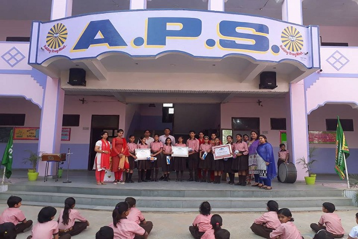 Adarsh Public School Charkhi Dadri-presentation party