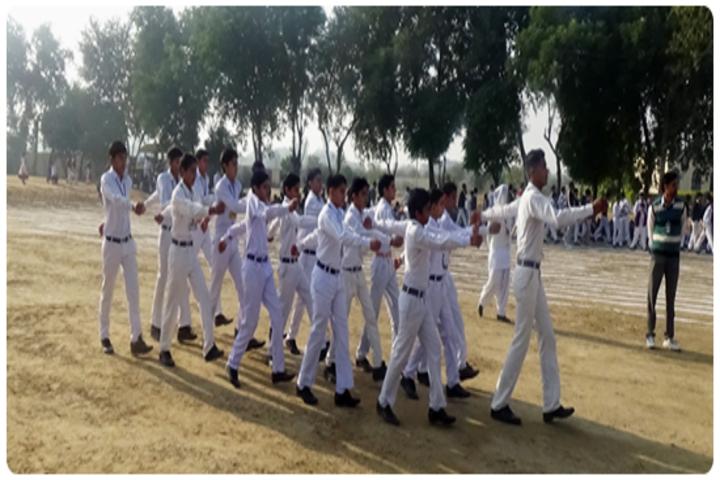Adarsh Senior Secondary School-March Past