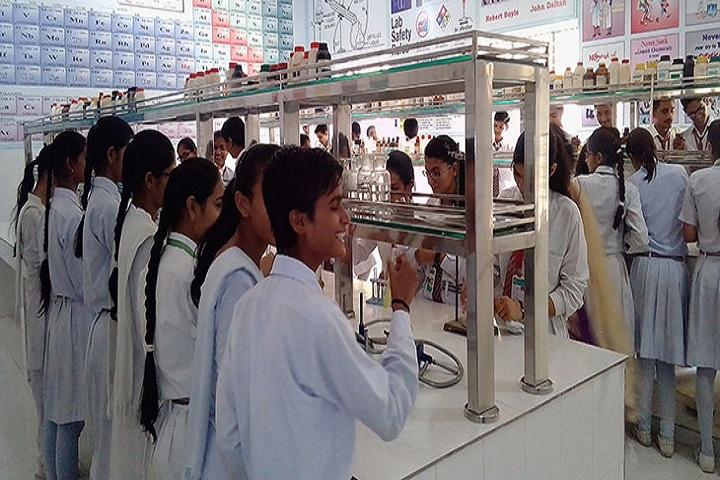 Adarsh Senior Secondary School-Chemistry-Lab