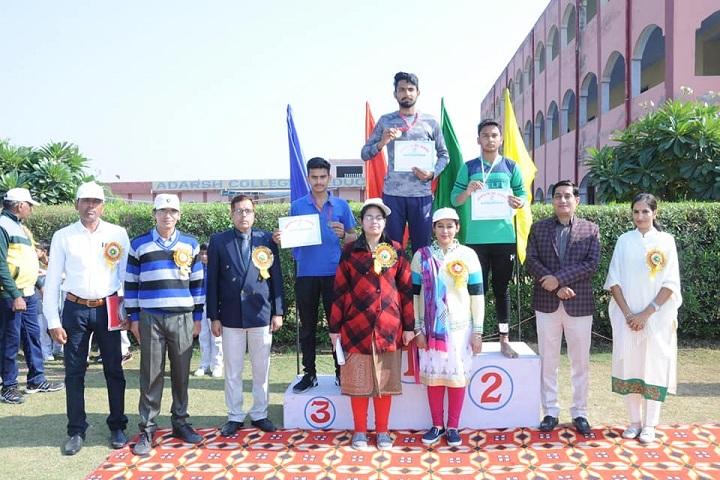 Adarsh Senior Secondary School Dadanpur-Presentation party