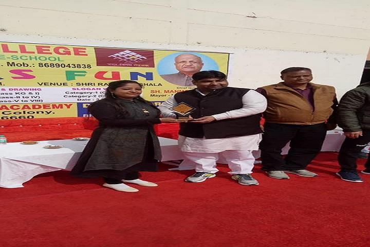 Adarsh Sr Sec School-Presentation party