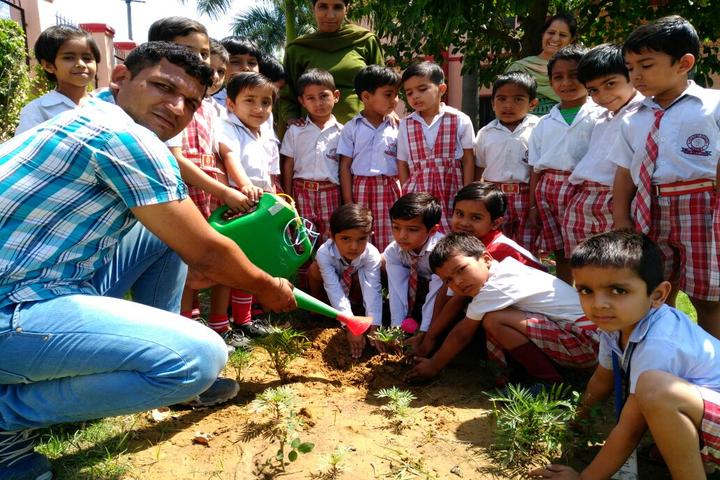 Adarsh Senior Secondary School-Tree Plantation