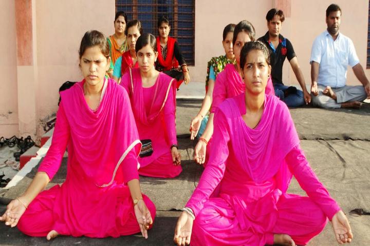 Adarsh Senior Secondary School-Yoga