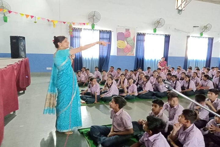 Adarsh Vidya Niketan Sr Sec School-Auditorium