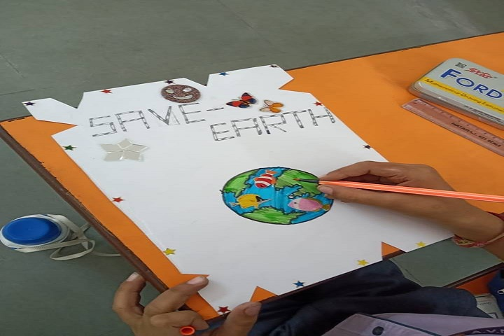Adarsh Vidya Niketan Sr Sec School-Poster presentation