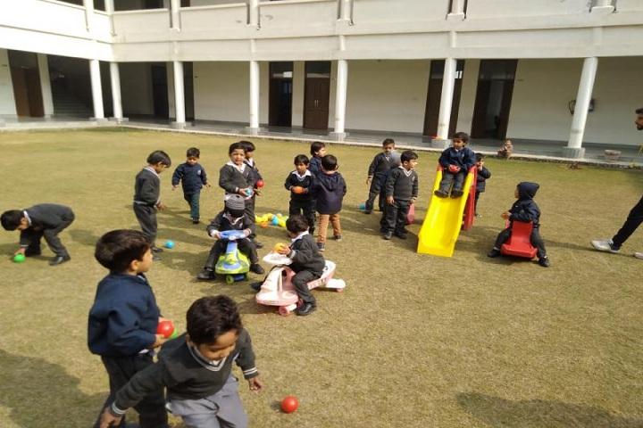 Aditya Public School-Play Area