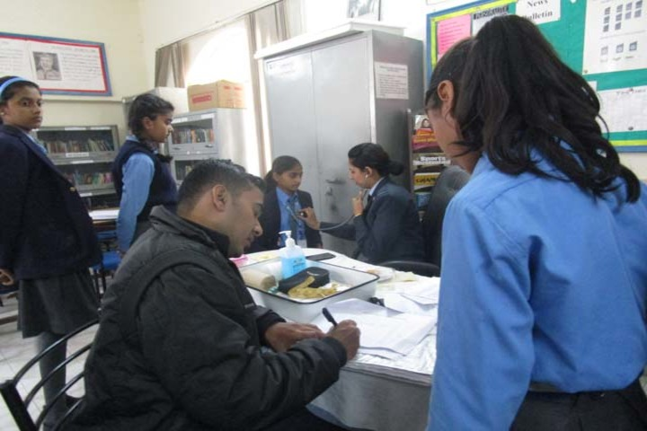 Air Force School-Health Checkup