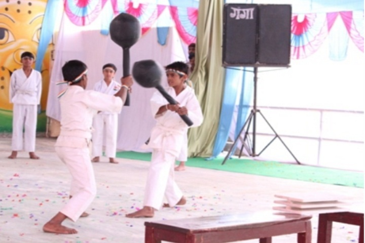 Aishly Public School-Karate