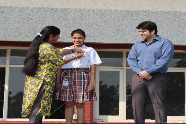 Ajanta Public School-Investitiure Ceremony