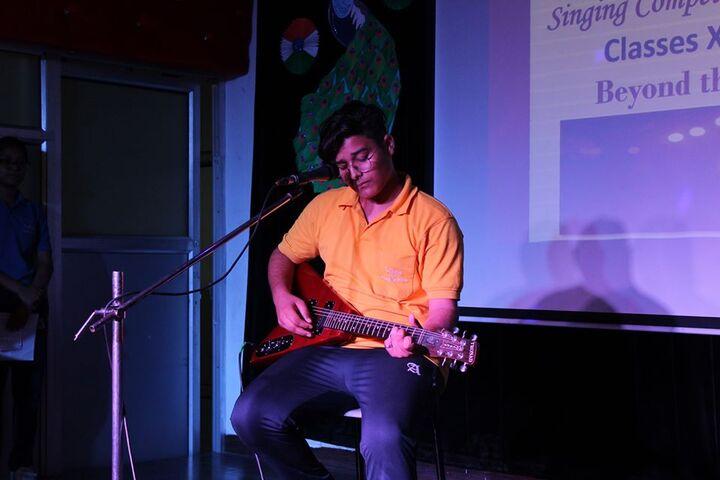 Ajanta Public School-Music Competition