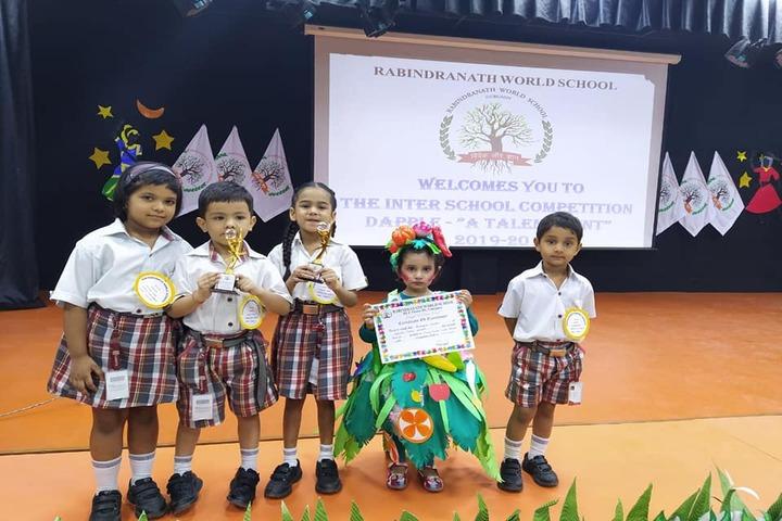 Ajanta Public School-Prizze Distribution