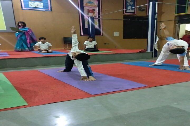 Ajanta Public School-Yoga