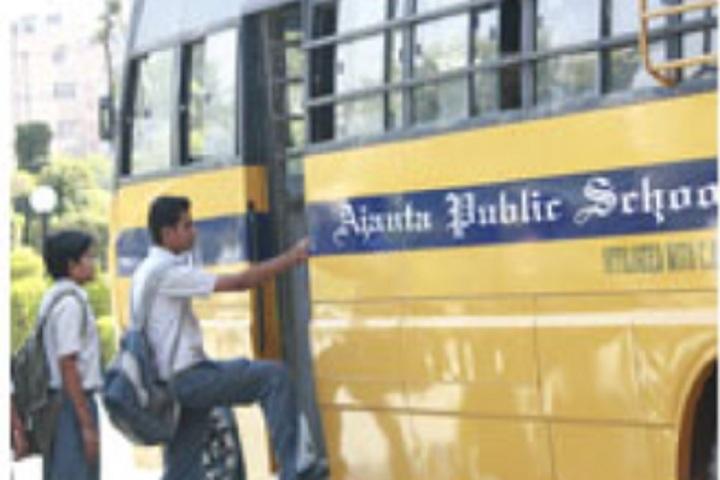 Ajanta Public School-Transport