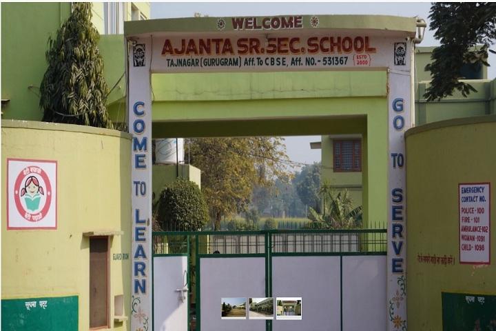 Ajanta Senior Secondary School-School Front View