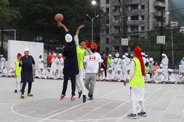 Akal Academy Ellenabad-Volly Ball