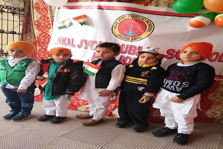 Akal Jyot Public School-Republicday Celebration