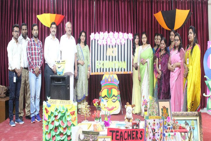 Akash Public School-Art Exhibition
