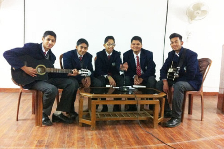 Amity Indian Military College-Music Room