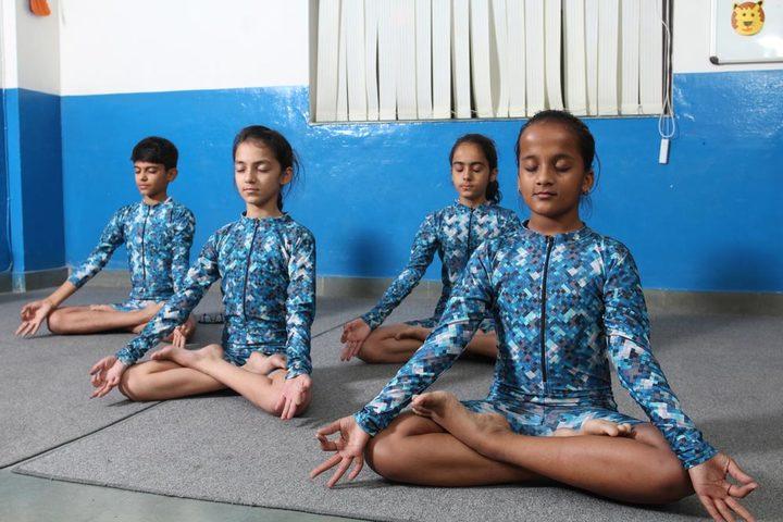 Amity International School-Yoga