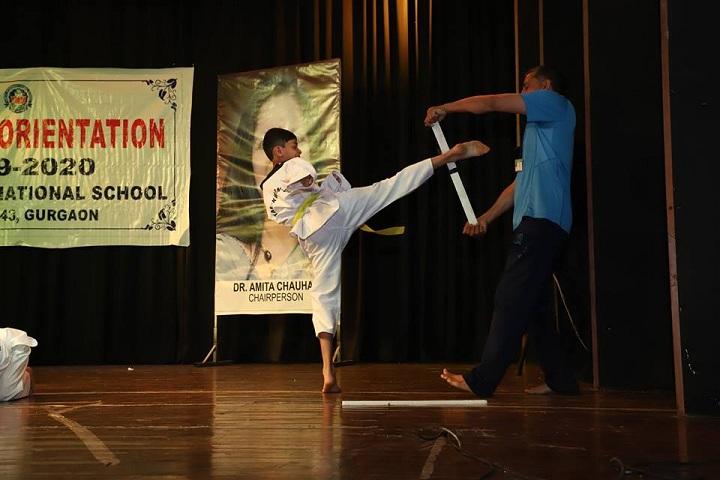 Amity International School-Karate