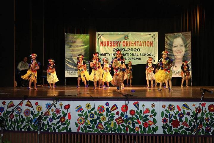 Amity International School-Nursery Orientation