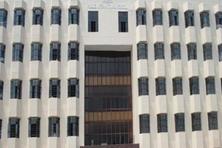 Angels Public School-Campus-View front