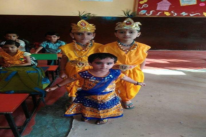 Anthem International School-Janmastami Celebration