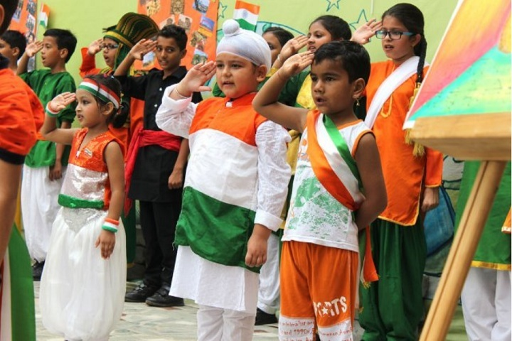 Apeejay Svran Global School-Independence day celebrations